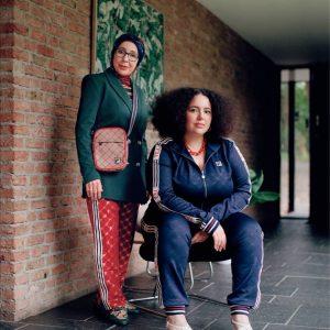 4. Meryem Slimani en moeder Najat Lekliye