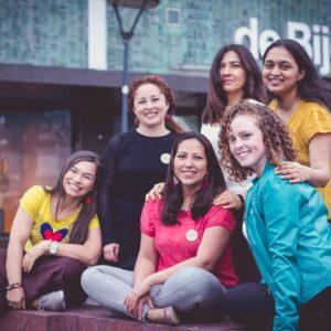 3 Yolima van den Berkmortel & Sally Ocaña & team - International Creative Women 2
